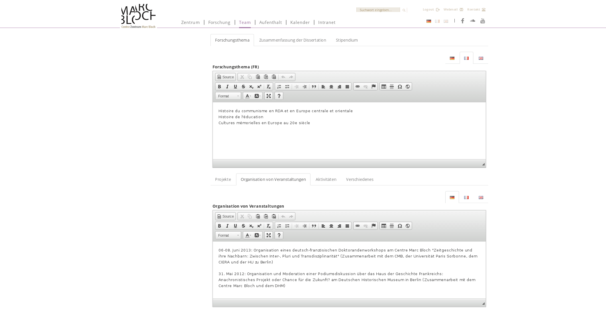 RFC: More stable editing by using CKEditor - Code - Discuss Neos